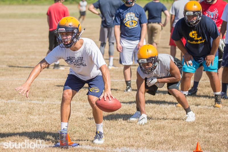 Grand Ledge High School 1st Football Practice of the 2016 Season